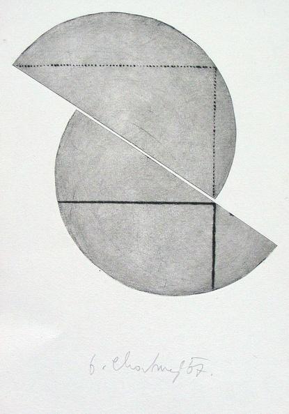 1967 200 190 Mm Sucha Jehla Tiskarska Barva Papir Sig