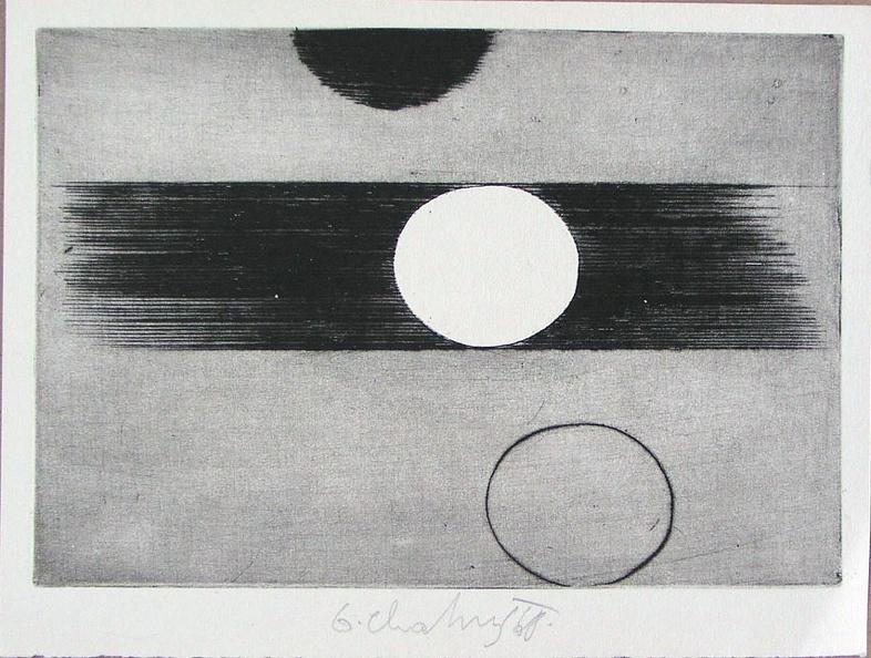 1968 175 245 Mm Sucha Jehla Tiskarska Barva Papir Sig